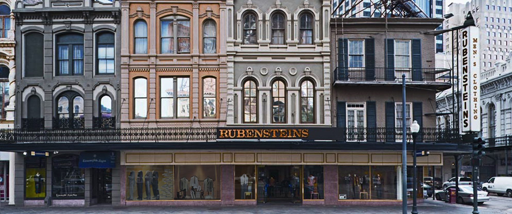 Rubensteins New Orleans - About Us