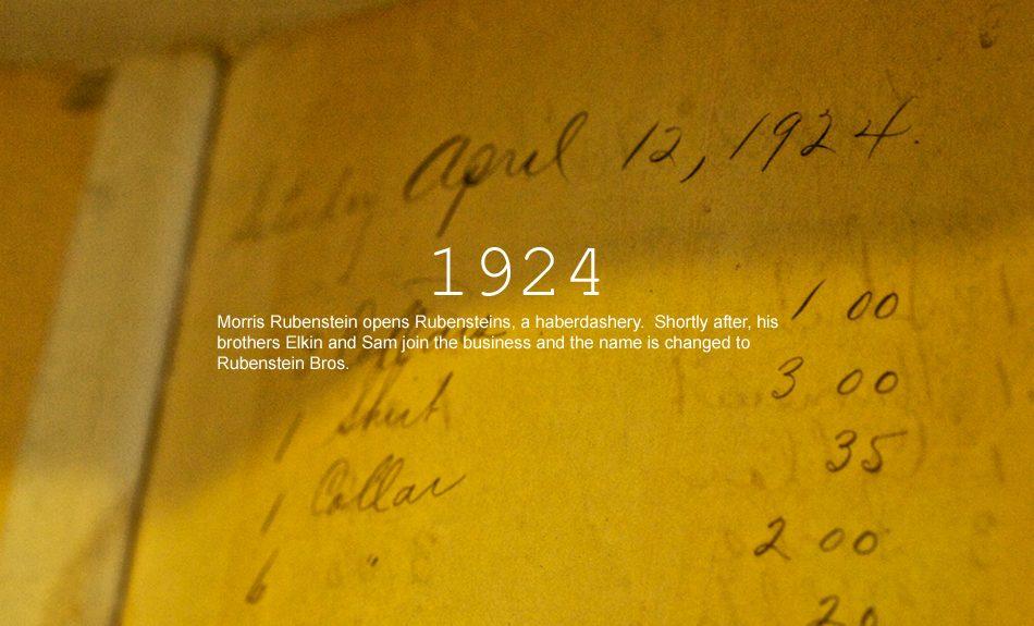 Rubensteins New Orleans History: 1924