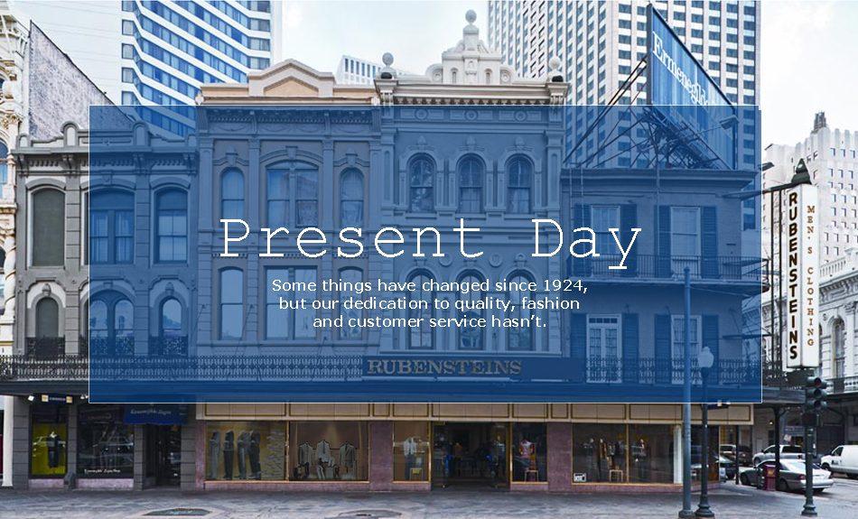 Rubensteins New Orleans History: Present Day